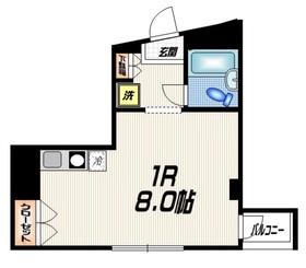 ソード・K6階Fの間取り画像