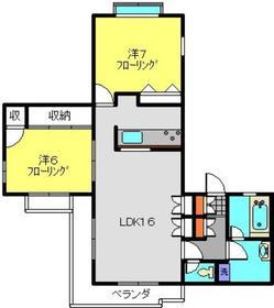 高田駅 徒歩22分3階Fの間取り画像