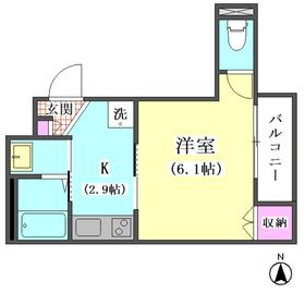 (仮称)西蒲田5丁目メゾン  201号室