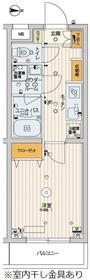 スカイコートパレス千川4階Fの間取り画像