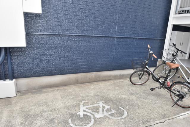 シティーコア高井田Ⅱ あなたの大事な自転車も安心してとめることができますね。