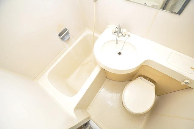 サニーハイム小若江 シャワー一つで水回りが掃除できて楽チンです