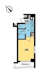 スカイコート文京根津5階Fの間取り画像