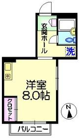 ロイヤルガーデン3階Fの間取り画像