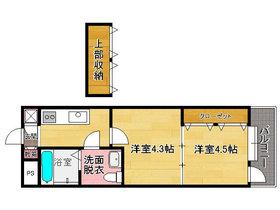 プロジェクト2100日赤通り No.51  : 2階間取図