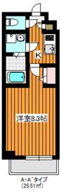 プレール・ドゥーク成増2階Fの間取り画像