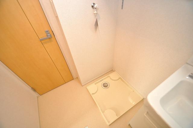 プロシード巽 室内に洗濯機置き場があれば雨の日でも安心ですね。