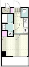 YAMATE6階Fの間取り画像