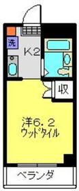 Espoir日吉3階Fの間取り画像