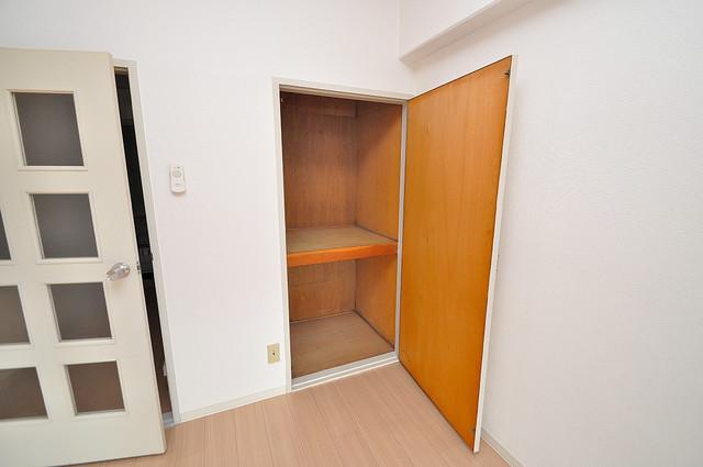 ノアーズアーク深江橋 もちろん収納スペースも確保。いたれりつくせりのお部屋です。
