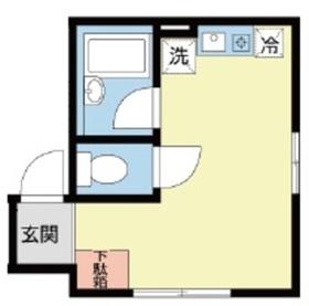 Duet上野2階Fの間取り画像