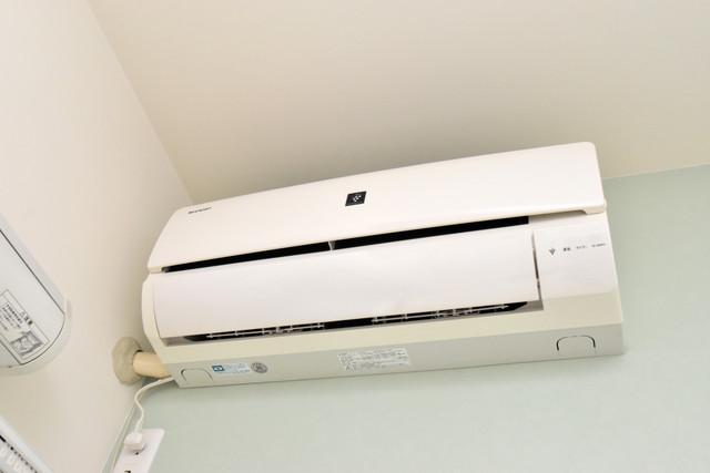 プログレス長瀬 うれしいエアコン標準装備。快適な生活が送れそうです。