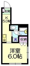 メゾンサンテ3階Fの間取り画像