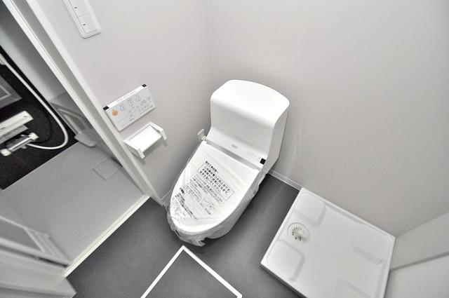 Purosupere弥栄 清潔感のある綺麗なトイレにはウォシュレット標準装備です。