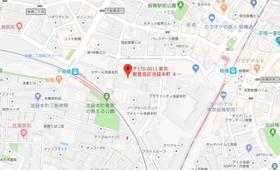 板橋区役所前駅 徒歩15分案内図