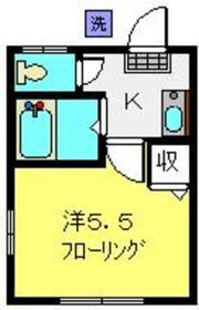 SNハイツ A棟1階Fの間取り画像