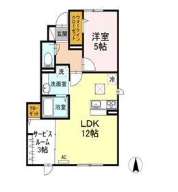 Kadoyakan D1階Fの間取り画像