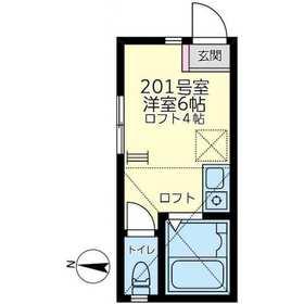 ユナイト小田モンセラッドの杜2階Fの間取り画像
