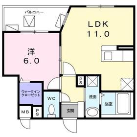 ル・クラージュ3階Fの間取り画像