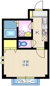 クレアフォート1階Fの間取り画像