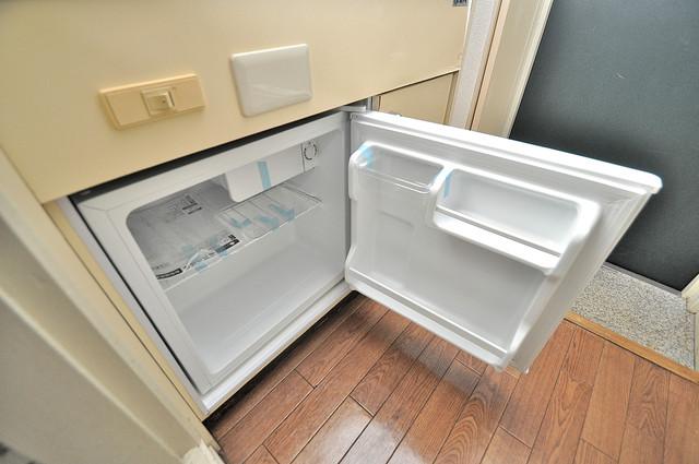 ハウスランド布施 嬉しいミニ冷蔵庫付きです。家電代1つ分浮きましたね。