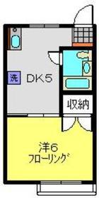 TMナカオ1階Fの間取り画像