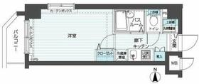 トーシンフェニックス武蔵新城5階Fの間取り画像
