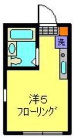 ピッコロスタンザ今宿東2階Fの間取り画像