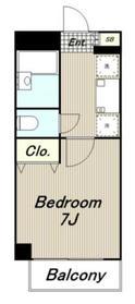 ウィステリアガーデン4階Fの間取り画像