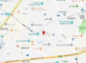 表参道駅 徒歩7分案内図