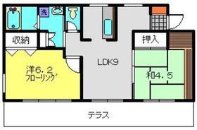 スプリングステージ1階Fの間取り画像