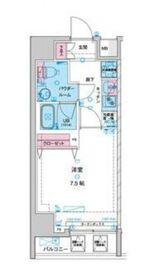 (仮)北上野マンションsg4階Fの間取り画像