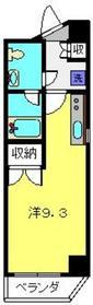 台町レジデンス4階Fの間取り画像