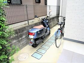 RESIDENCE ODASAGA駐車場