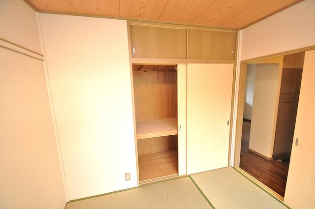 サンビレッジ・なかもり もちろん収納スペースも確保。お部屋がスッキリ片付きますね。