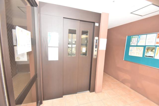 星和ビル 嬉しい事にエレベーターがあります。重い荷物を持っていても安心