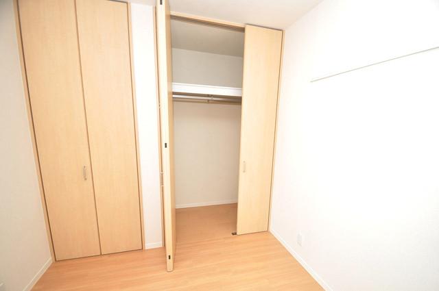 シャーメゾン友井 もちろん収納スペースも確保。おかげでお部屋の中がスッキリ。