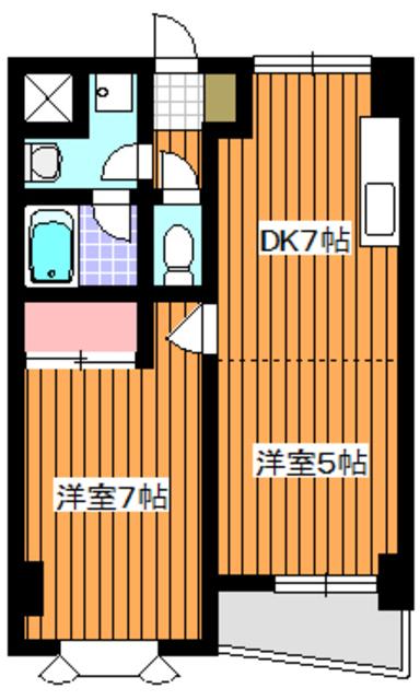 成増駅 徒歩5分間取図