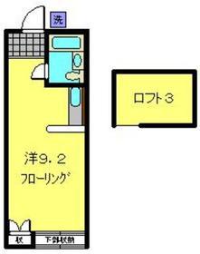 矢向駅 徒歩12分2階Fの間取り画像