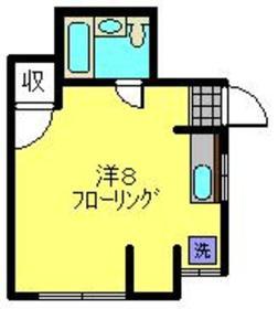 白楽駅 徒歩1分1階Fの間取り画像