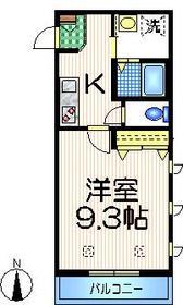 E・FLAT2階Fの間取り画像