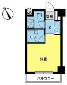 スカイコート荻窪第52階Fの間取り画像