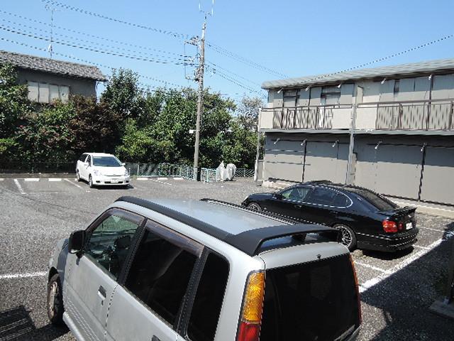 シティハイム コーポアベ駐車場