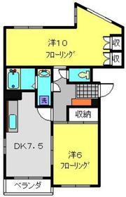 マンション築山第32階Fの間取り画像