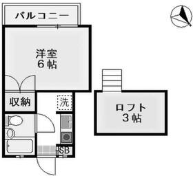エクセル狛江2階Fの間取り画像