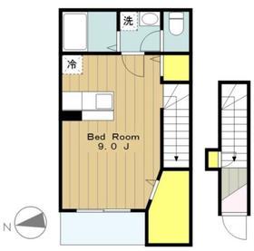 リヴェール2階Fの間取り画像