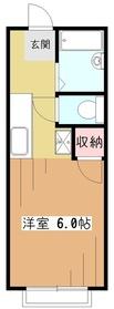リーベンハウスI1階Fの間取り画像