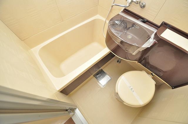 ノアーズアーク深江橋 シャワー1本で水回りが簡単に掃除できますね。