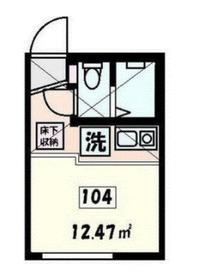サニーウェルNIshiya1階Fの間取り画像