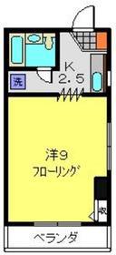 横浜駅 バス21分「千代崎町停」徒歩1分2階Fの間取り画像